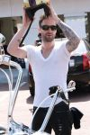 adam levine left sleeve tattoo