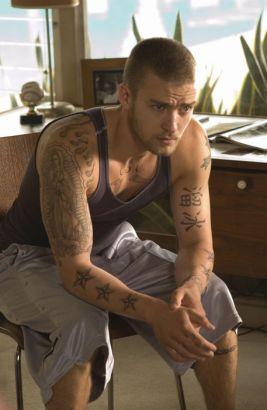 b9beb269e Justin Timberlake Movie Alpha Dog Temporary Tattoos