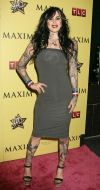 kat  von d arms and legs tattoo