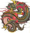 asian dragon free tats