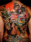asian back tattoo art