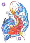 japanese fish image tats