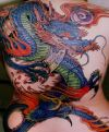 chinese dragon pic tattoos on full back