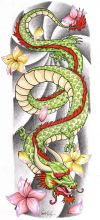 chinese dragon tattoos designs