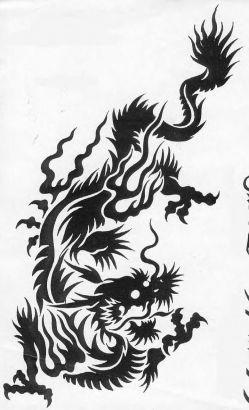 tribal dragon tattoos tattoo from itattooz. Black Bedroom Furniture Sets. Home Design Ideas