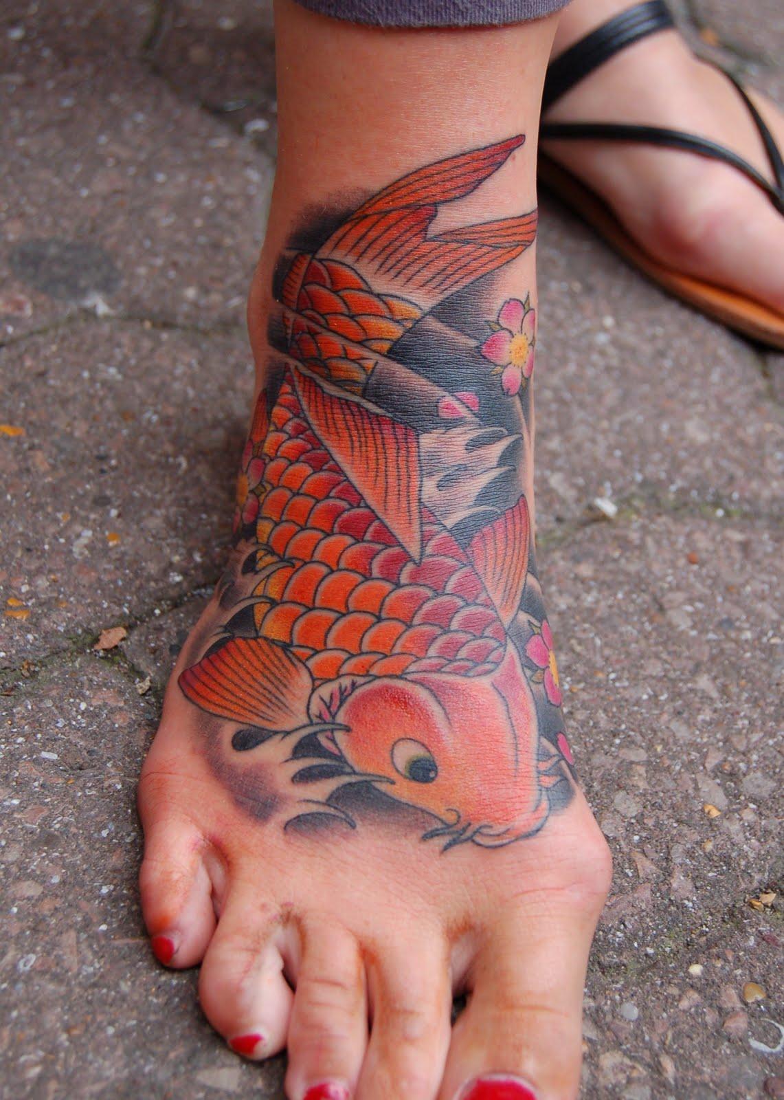 Koi Fish Tattoos Picture