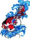 free tats of koi fish