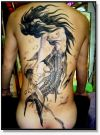 mermaid tattoo deisgn