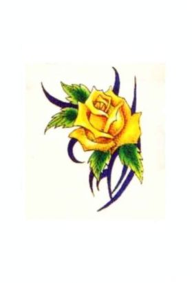 Yellow Rose Tats
