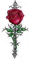 rose tat designs
