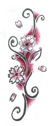 cherry blossom images tattoos