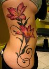 lily tattoo for girls