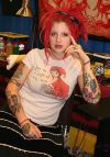 girl tattoo design