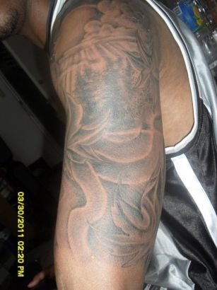 Tattoos Design On Man Arm's