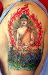 buddha pic tattoo