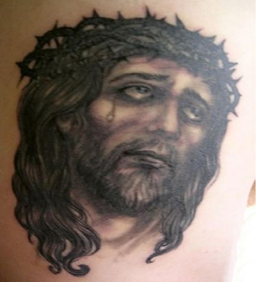 Jesus Pic Of Tattoos