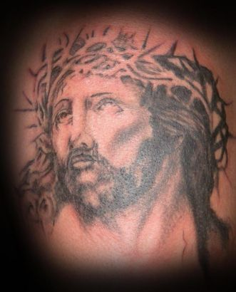 Jesus Tattoo Image Design