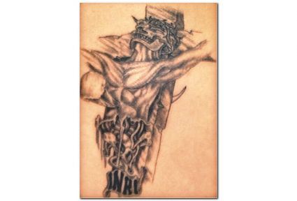 Jesus Tattoo Pics Gallery