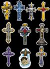 cross symbols tats design