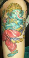 Ganesha tattoo design