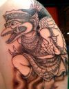 garuda tattoo on arm