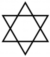 free hexagram tattoo