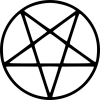 pentagram tattoos images