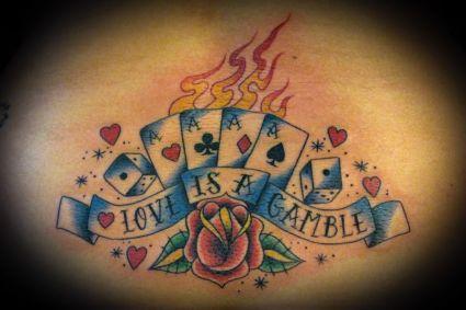 Card celebrity gamble poker