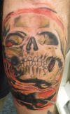 pirates scull tattoo