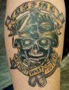 skull tat design