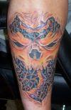 skull hand pics of tat