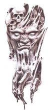 demon pic tattoo
