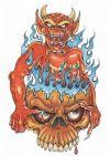free demon pic of tattoos