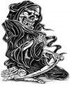grim reaper free tattoo