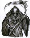grim reaper image tattoo