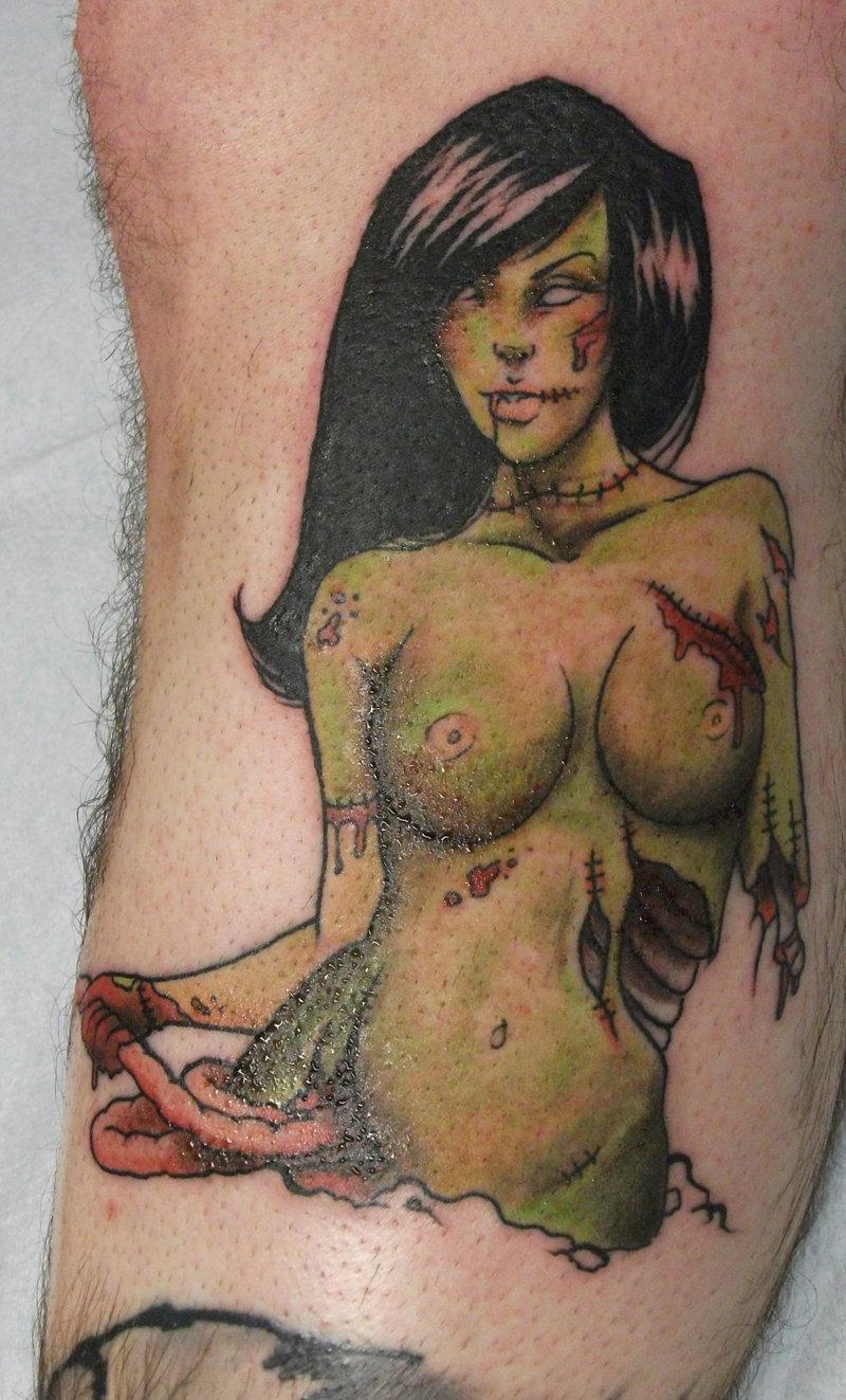 Cartoon female characters naked