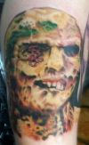 Zombie Tattoo Art Designs