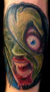 Zombie Tattoo Art