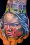 Zombie Tat On Wrist