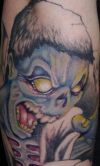 Zombie Tat Picture Art