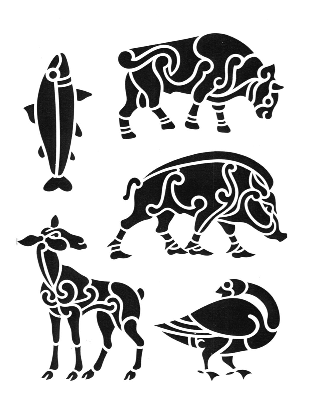 Tribal Animal Tattoos