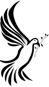 tribal dove pic of tattoo