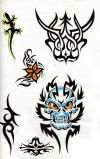 tribal mask tat galleries