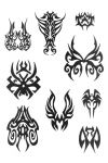tribal mask tattoo art