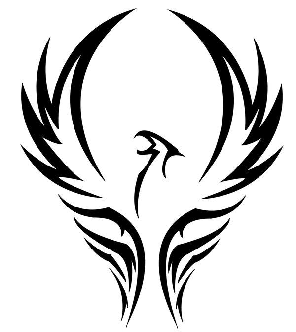 Free Tattoo Of Tribal Phoenix