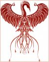 tribal phoenix picture tattoos