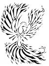 tribal phoenix pics free tattoo designs
