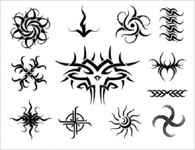 tribal symbols tattoo pic