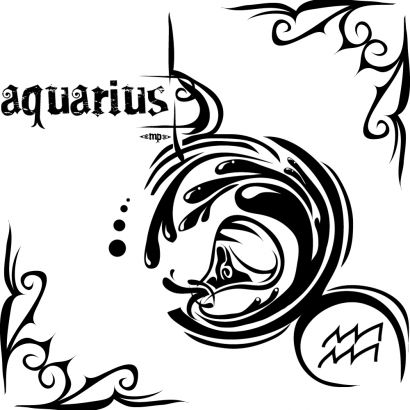 Aquarius Tattoo Pics