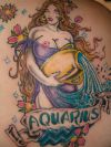aquarius zodiac tattoos pics